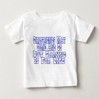 Freundinnen kommen und gehen baby t-shirt