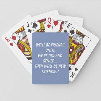 Freundkarten Spielkarten