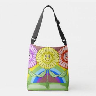 Freundliche Blumen-Taschen-Tasche Tragetaschen Mit Langen Trägern