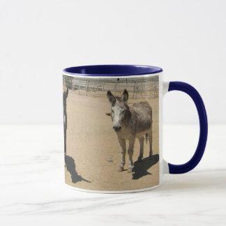 Freundliche Esel-Herde Tasse