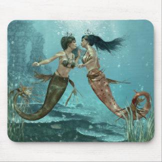 Freundliche Meerjungfrau-Mausunterlage Mousepads