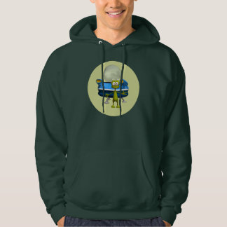 Freundliches alien hoodie