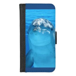 Freundliches Delphin-Foto iPhone 8/7 Geldbeutel-Hülle