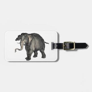 freundliches Elefant 🐘 Kofferanhänger