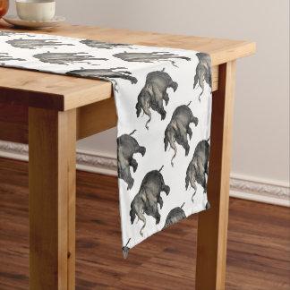 freundliches Elefant 🐘 Kurzer Tischläufer