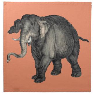 freundliches Elefant 🐘 Serviette