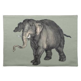 freundliches Elefant 🐘 Stofftischset