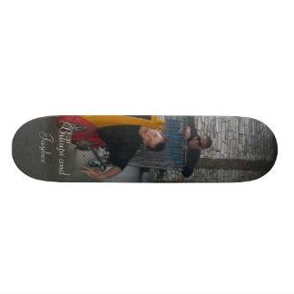 Freundschaft dauert für immer personalisiertes skateboard