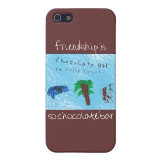 Freundschaft ist, also Schokoladen-Bar iPhone 5 iPhone 5 Cover