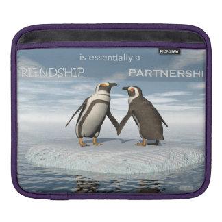 Freundschaft ist essentailly eine Partnerschaft Sleeve Für iPads