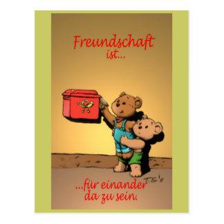 Freundschaft ist… postkarten
