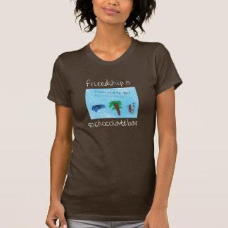 Freundschaft ist so Schokoladen-Bart-stück! T-Shirt