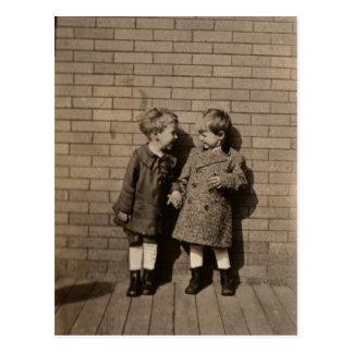 Freundschaft Postkarte