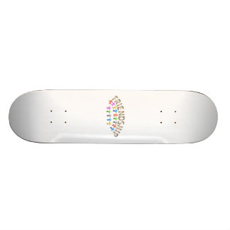 Freundschaft Personalisiertes Skateboarddeck