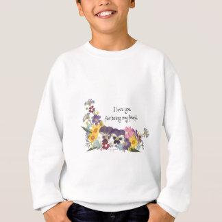 Freundschaft u. Liebe Sweatshirt