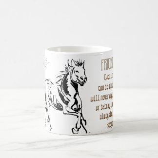Freundschaft - wildes Tier Tasse