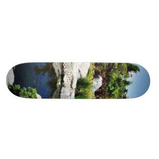 Freundschafts-Garten-Balboa-Park-Teich 21,6 Cm Skateboard Deck