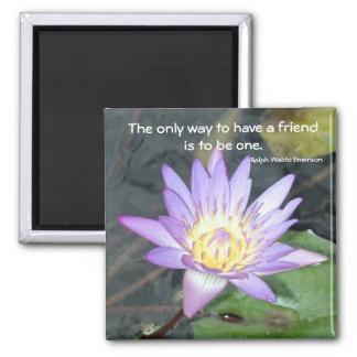 Freundschafts-Magnet Quadratischer Magnet