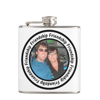 Freundschafts-Rahmen-Kreis addieren Ihr Foto Flachmann