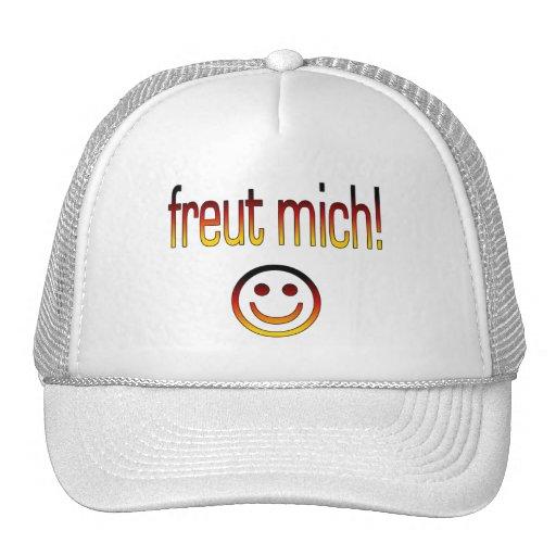 Freut Mich! Deutsche Flaggen-Farben Trucker Caps