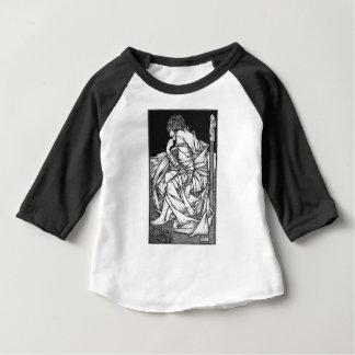 Frey setzte auf dem Thron von Odin Baby T-shirt