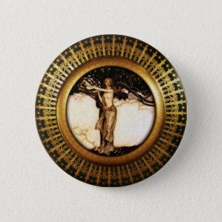 Freya Gold Runder Button 5,1 Cm