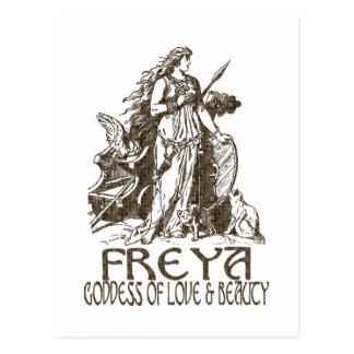 Freya Postkarte