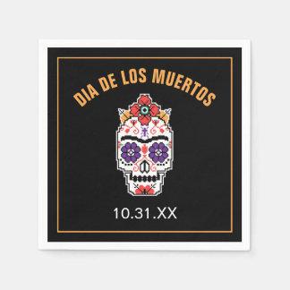 Frida Kahlo | Dia De Los Muertos Servietten