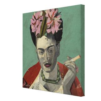 Frida Kahlo durch Garcia Villegas Gespannter Galerie Druck