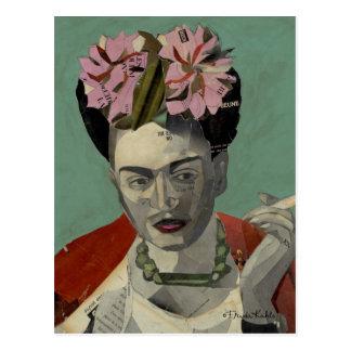 Frida Kahlo durch Garcia Villegas Postkarte