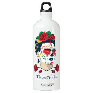 Frida Kahlo | El Día de Los Muertos Aluminiumwasserflasche
