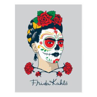 Frida Kahlo | El Día de Los Muertos Postkarte