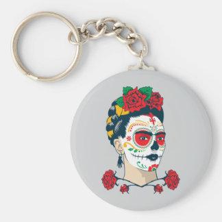 Frida Kahlo | El Día de Los Muertos Schlüsselanhänger
