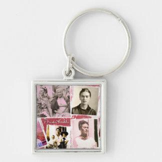 Frida Kahlo FotoMontage Schlüsselanhänger
