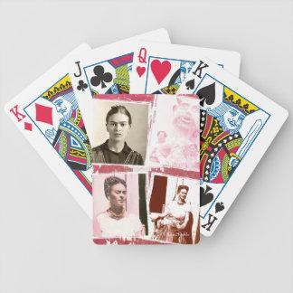 Frida Kahlo FotoMontage Poker Karten