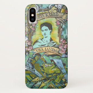 Frida Kahlo-Graffiti iPhone X Hülle