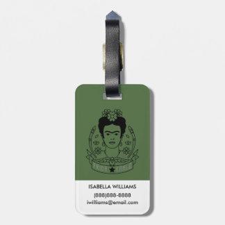 Frida Kahlo | Heroína Gepäckanhänger