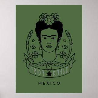 Frida Kahlo   Heroína Poster