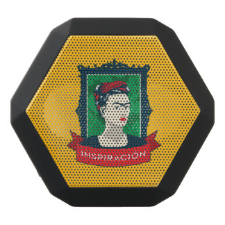 Frida Kahlo | Inspiración Schwarze Bluetooth Lautsprecher