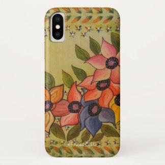 Frida Kahlo malte Flores iPhone X Hülle