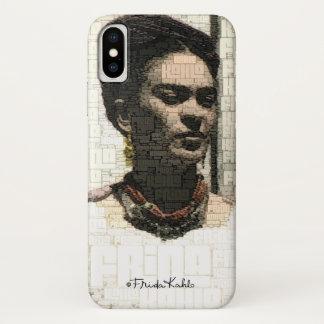Frida Kahlo-Textilporträt iPhone X Hülle