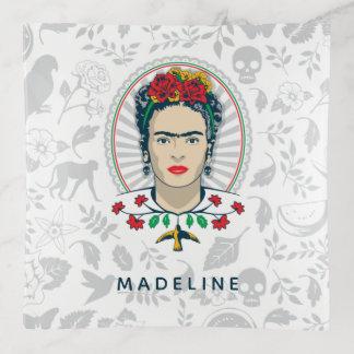 Frida Kahlo   Vintages Blumen Dekoschale