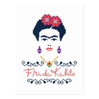 Frida Kahlo   Viva Mexiko Postkarte