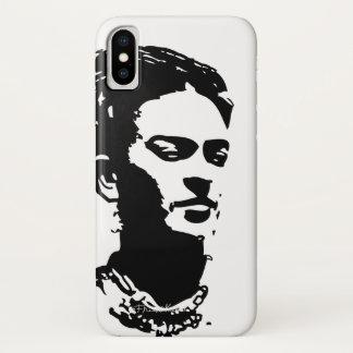 Frida Schatten-Porträt iPhone X Hülle