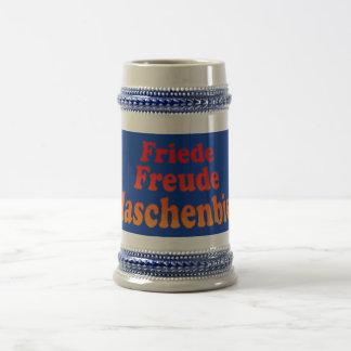Friede Freude Flaschenbier Bierglas