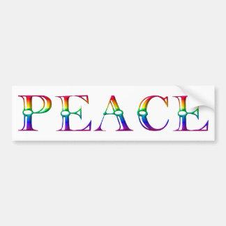 Frieden #3 autoaufkleber