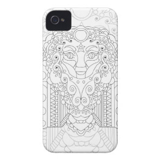 Frieden am Herzen iPhone 4 Case-Mate Hüllen