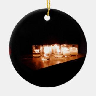 Frieden auf einer stürmischen Nacht Keramik Ornament