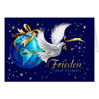 Frieden auf Erden. Deutsche Weihnachtskarten Grußkarte