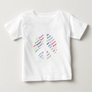 Frieden Baby T-shirt